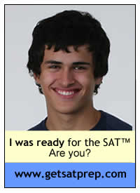 I was ready for the SAT, www.getsatprep.com